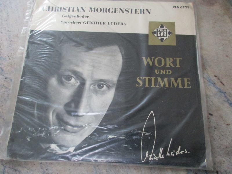 LP Christian Morgenstern Sprecher Günther Lüders Telefunken Hi-Fi