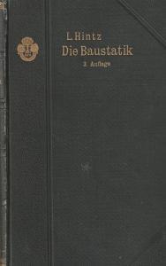 Die Baustatik von L. Hintz 1899