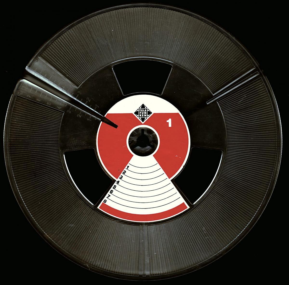 2 x Telefunken Tonband-Leerspule - ca. 18 cm Durchmesser  1