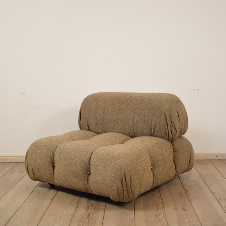 Sessel Camaleonda, Italien, um 1970, Sitzelement, mit originalem Bezug, von Mario Bellini für C&B Italien Höhe: 70cm / Breite: 95cm / Tiefe: 95cm / Sitzhöhe: 35cm 0
