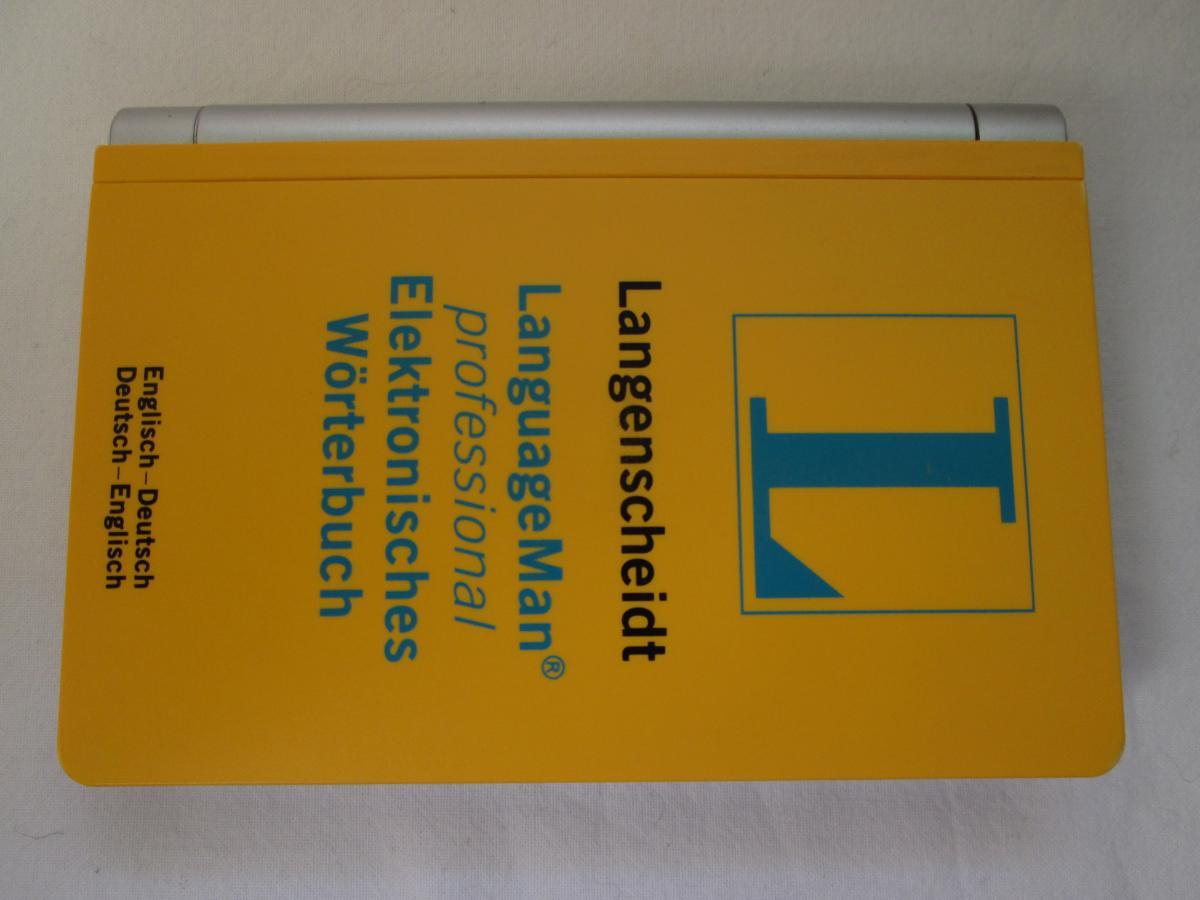 Langenscheidt LanguageMan professional (Elektronisches Wörterbuch - Englisch)