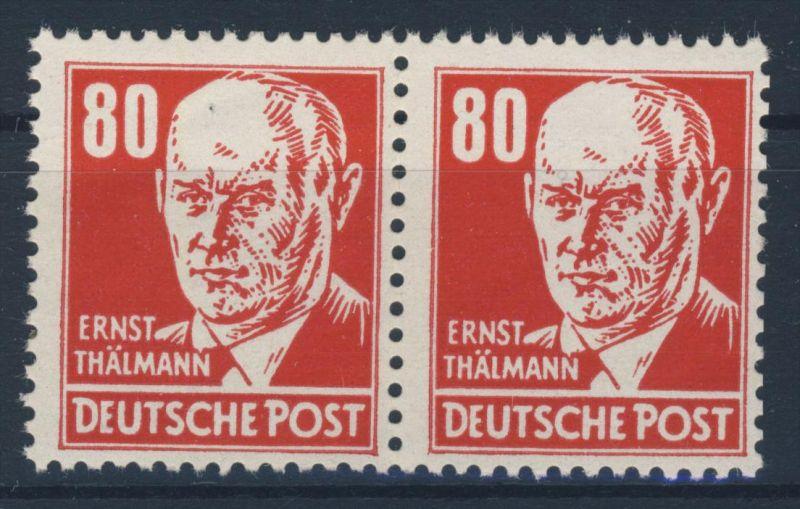 DDR Michel No. 340 v X II ** postfrisch Paar