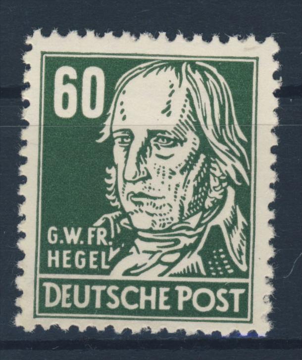 DDR Michel No. 338 va X II ** postfrisch