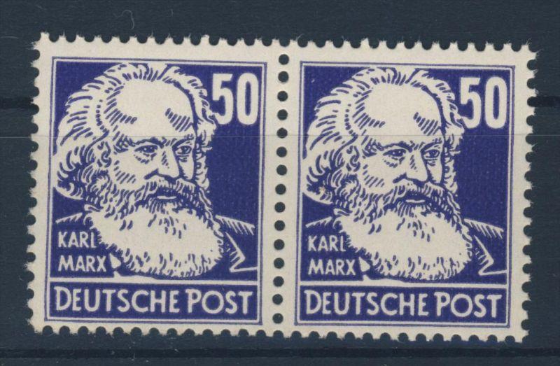 DDR Michel No. 337 v X I ** postfrisch Paar
