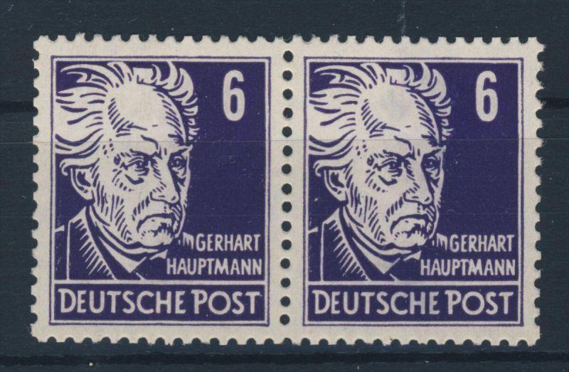 DDR Michel No. 328 va X I ** postfrisch Paar