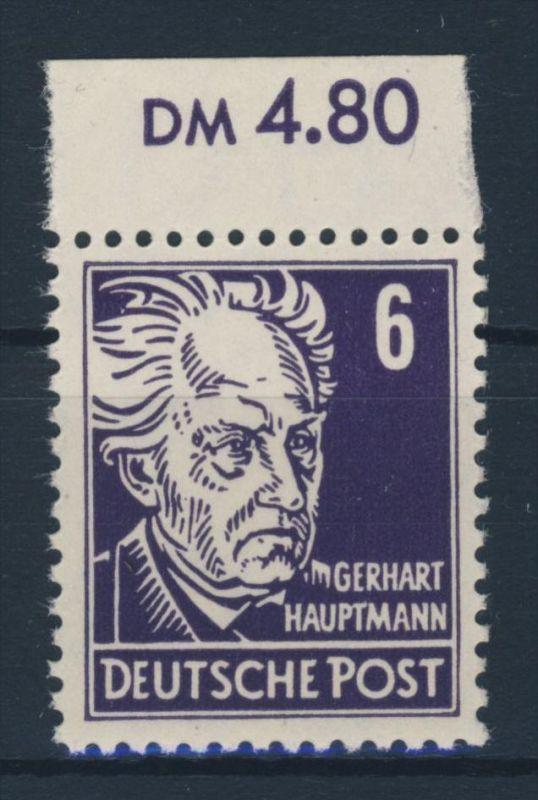 DDR Michel No. 328 va X I ** postfrisch Oberrand