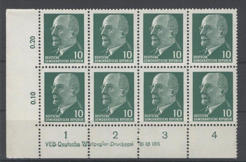 DDR Michel No. 846 Xy II ** postfrisch DV Druckvermerk