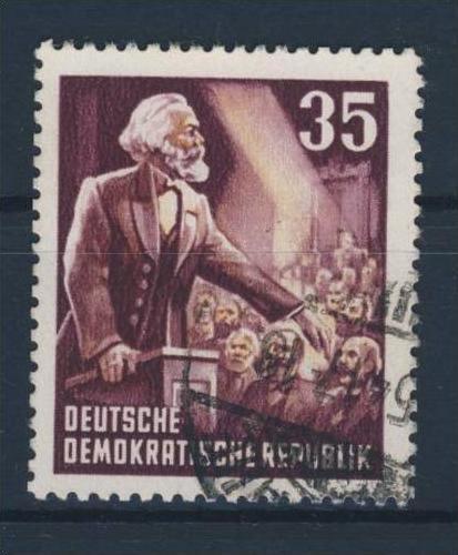 DDR Michel No. 350 Y II gestempelt used