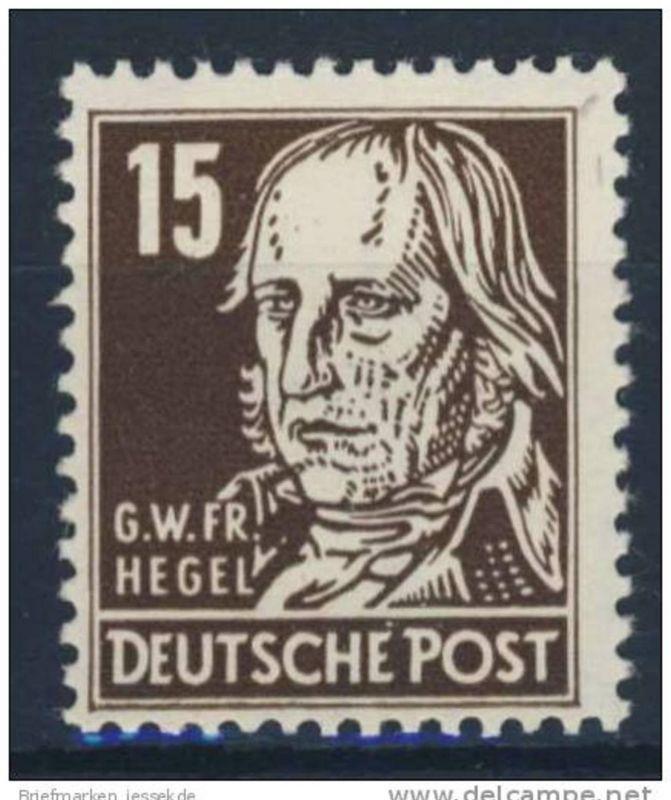 DDR Nr. 331 v X II ** postfrisch / Kratzer im Gummi