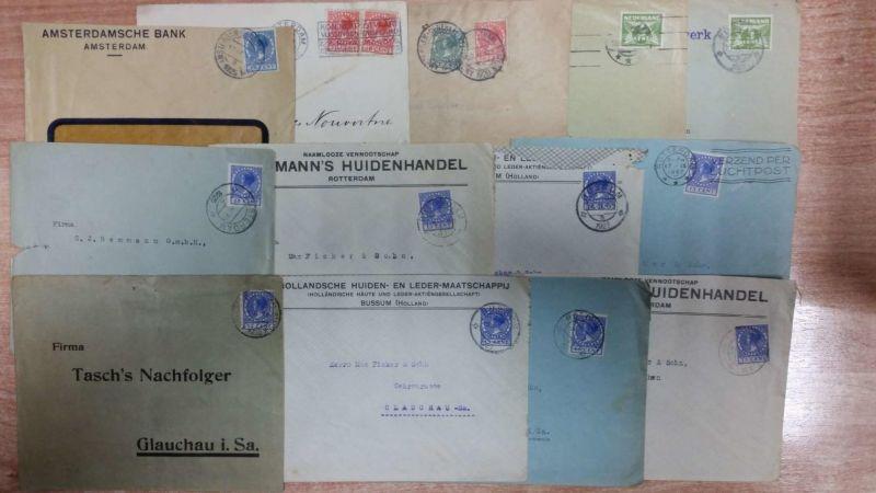 Briefe Adressieren Niederlande : Lot niederlande briefe ganzsachen ab er jahre stück