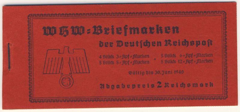 Deutsches Reich MH 46.5 ** postfrisch