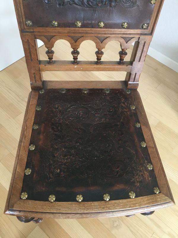 Antike Stuhle Leder