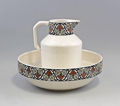 waschgarnitur olbrich stempelmarke villeroy boch mettlach um 1910 7545054 nr 252253230390. Black Bedroom Furniture Sets. Home Design Ideas