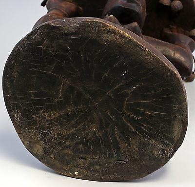 Karyatiden-Hocker Afrika Luba Kongo 20. Jh. Holz geschnitzt 7839003 3