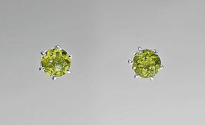 Peridot Ohrstecker 925er Silber 9927346