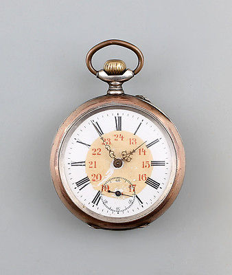 Silberne Herren - Taschenuhr um 1890 800er Silber 99820004