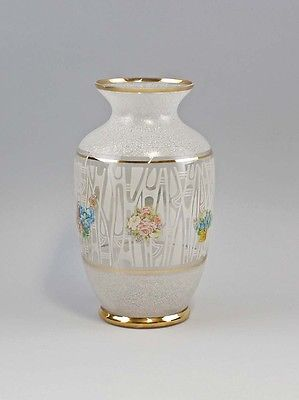 Vase 60er Jahre Goldstreifen 99835269