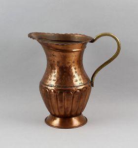 Orientalischer Kupfer Schenkkrug 1950/60 Jahre wohl handgetrieben   99833068 0