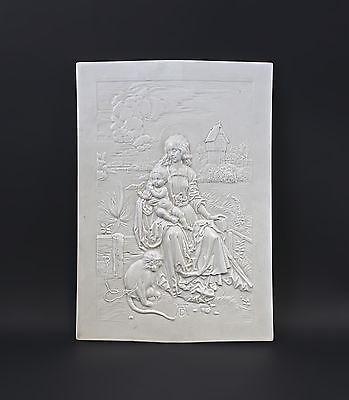 Relief Maria mit der Meerkatze nach A.Dürer 99840171