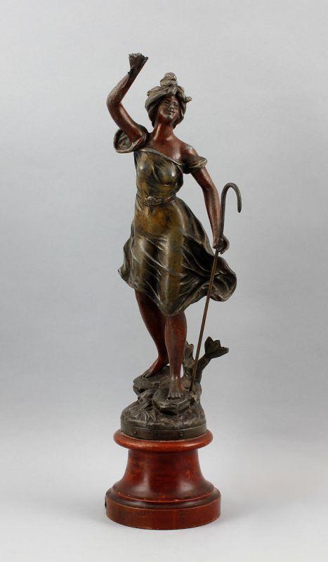 L´Industrie Metallguss Frauen-Skulptur Guillemin 99838014
