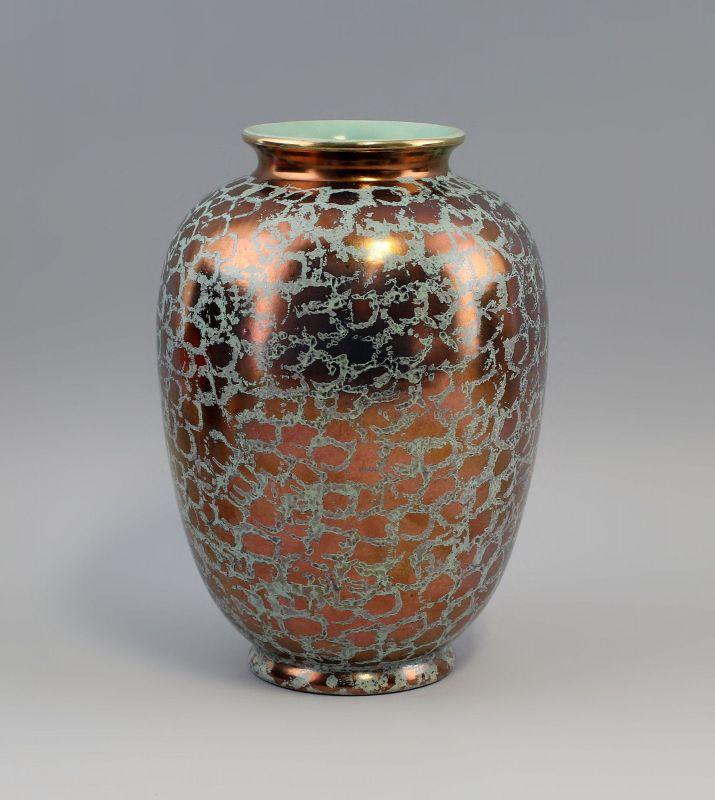 Vase Golddekor 50er Jahre 99845126