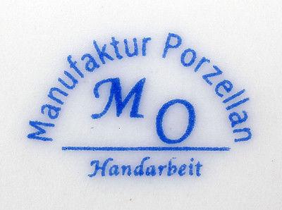 Porzellan - Deckel-Tasse mit Rosen- und  Gold-Dekor 9987107 2