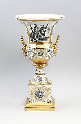 Porzellan Amphore Amphoren-Vase Pokal Klassizistisch Neu 9937564