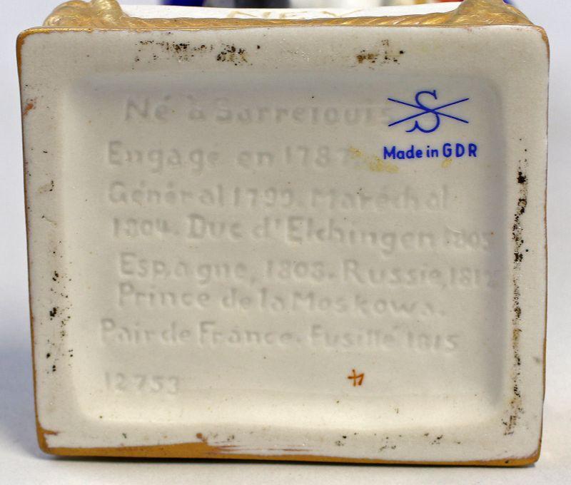 Lysek, C., Michel Ney Scheibe-Alsbach H25cm Napoleon Maréchal d?Empire 8040076 3