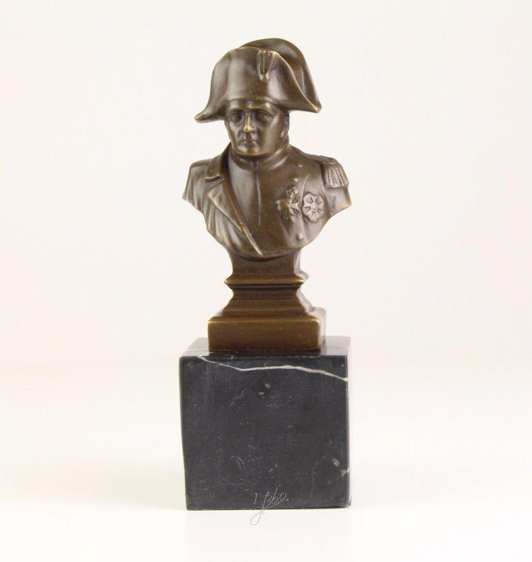 Bronze Skulptur Napoleon Bonaparte Büste neu 9973419-dssp
