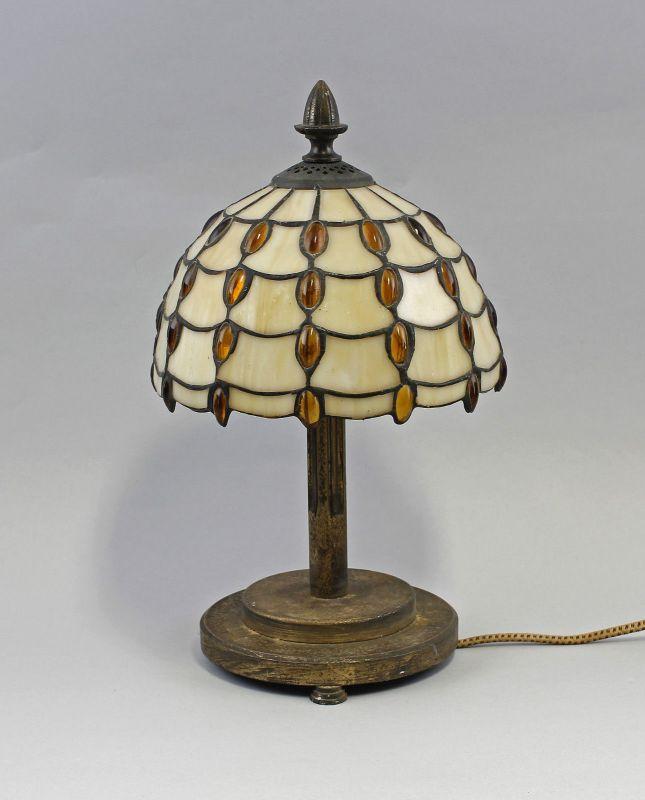 Tischlampe Tiffany-Art  Bleiglas H 35 cm 99868022