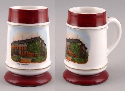 Andenken-Bierkrug Alexanderbad um 1900 Mit Bodenlithophanie 99848043