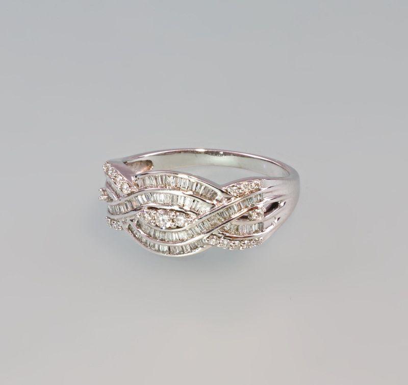 7925003 Brillant-Ring 585er WG Gr. 59