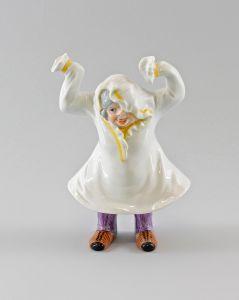 Porzellan Figur Ens Wackelfigur Großmutter Oma H19cm beweglich 9997010