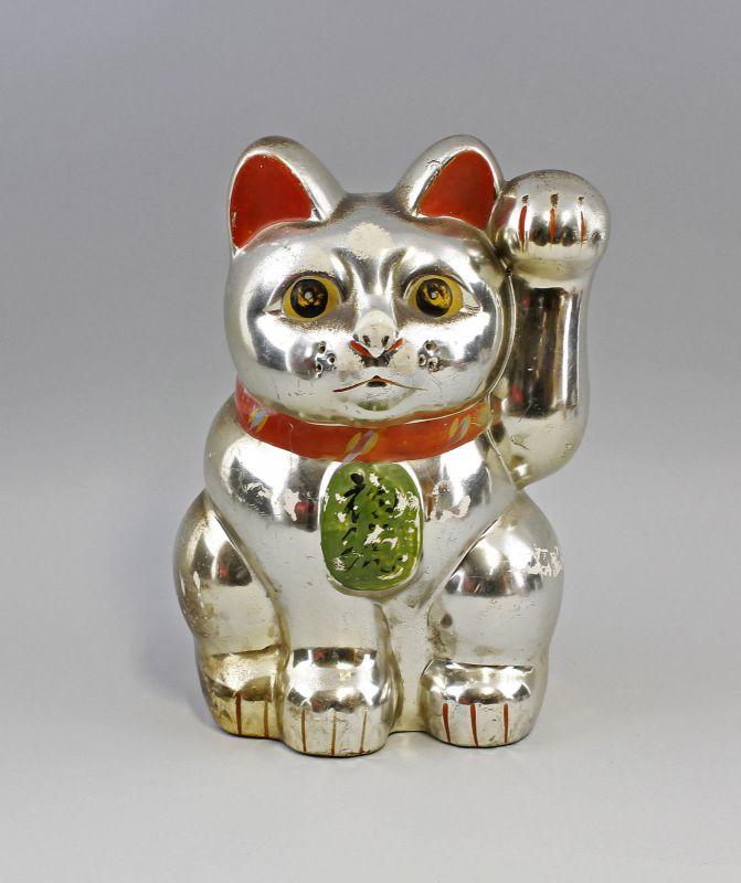 Sparbüchse Maneki-Neko Katze Japan Keramik Winkekatze 99839053