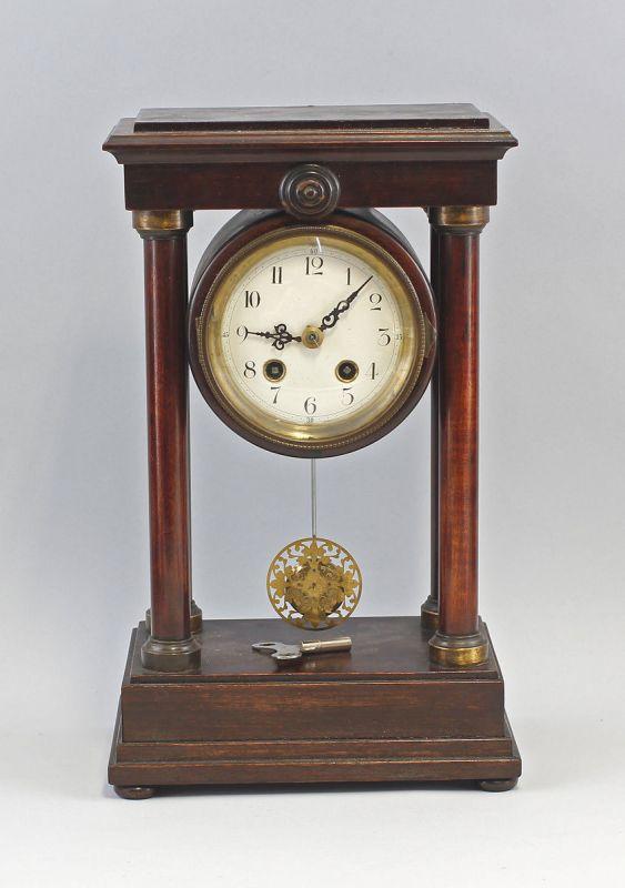 Portal-Uhr 19.Jh. Klassizismus Holzgehäuse 99820035