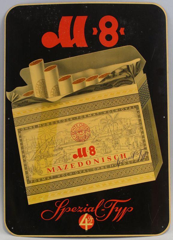7975003 Bakelit-Reklameschild Zigarettenfabrik Mahalesi Gera