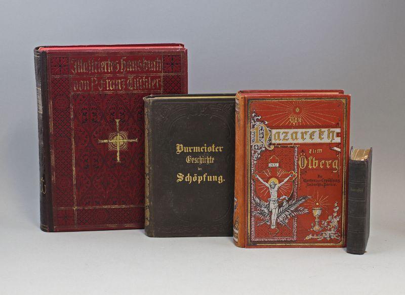 8069010 Konvolut 4 Bücher Religion Kirche Christentum 1856 bis 1908 Burmeister