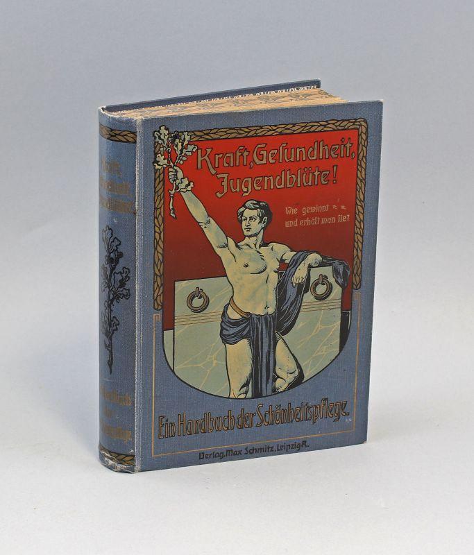 8055001 Ein Handbuch der Schönheitspflege um 1900 Jugendstil
