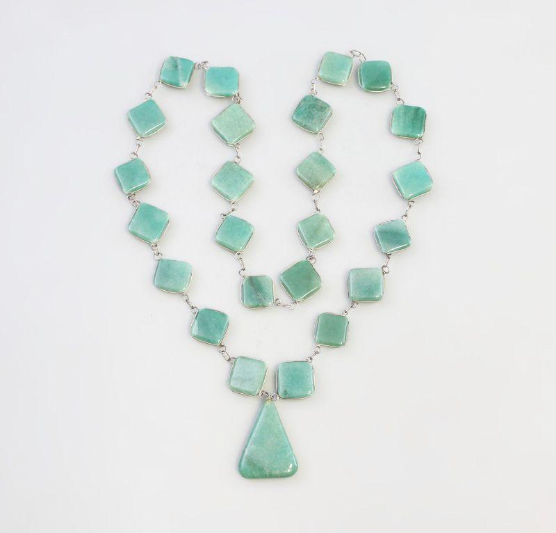 7925038 Langes Jade-Collier L 74 cm