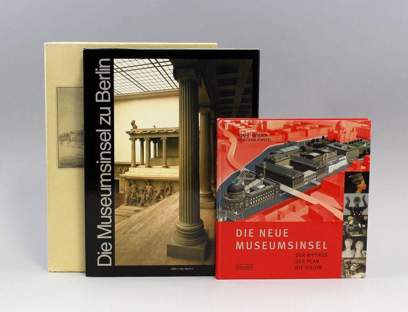 2 Bücher Museumsinsel Berlin Henschel Verlag 1988 Mythos Plan Vision 99855019
