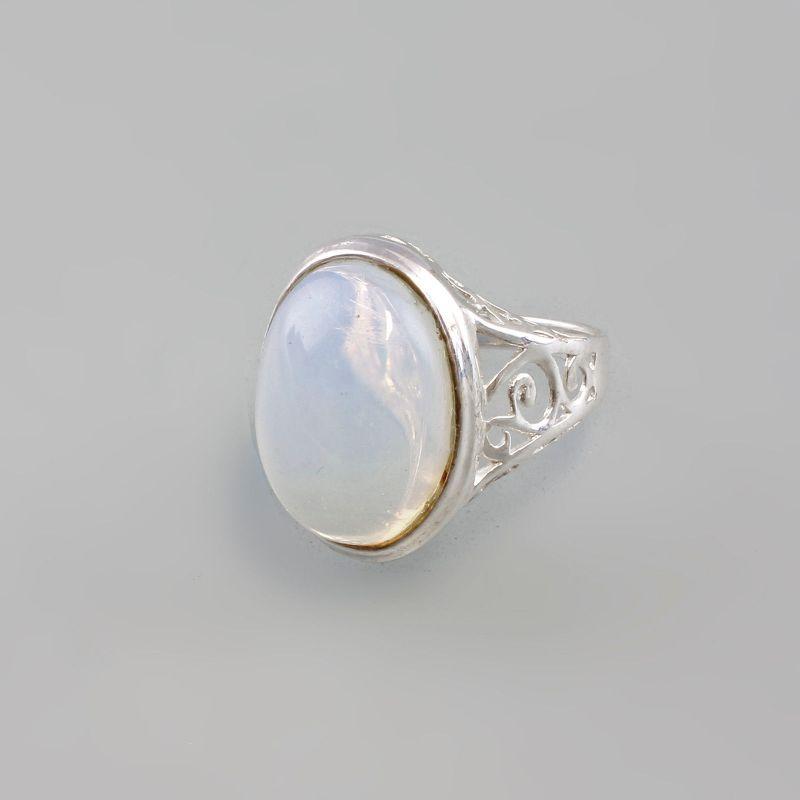 925er Silber Mondstein Ring 9907262