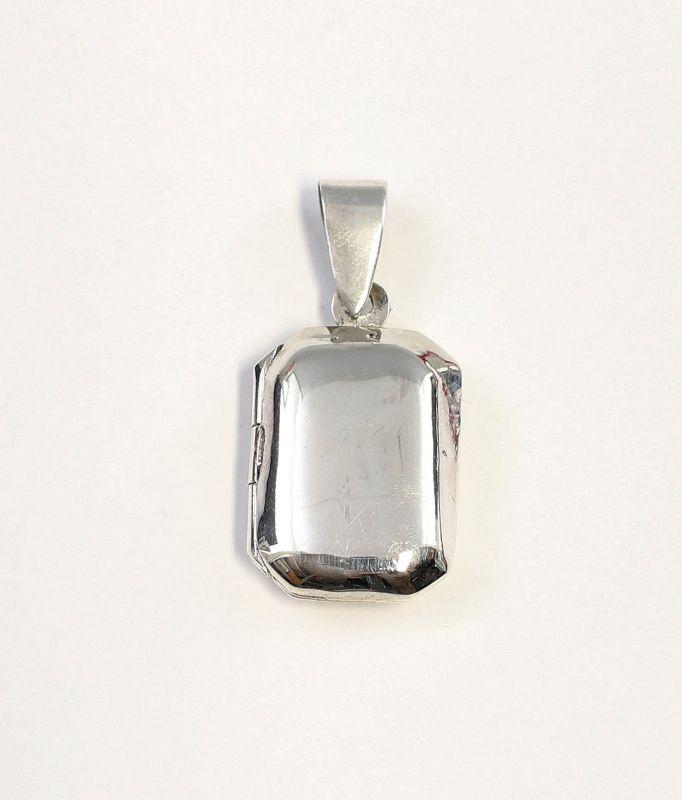 9927051 925er Silber achteckiger Medaillon-Anhänger