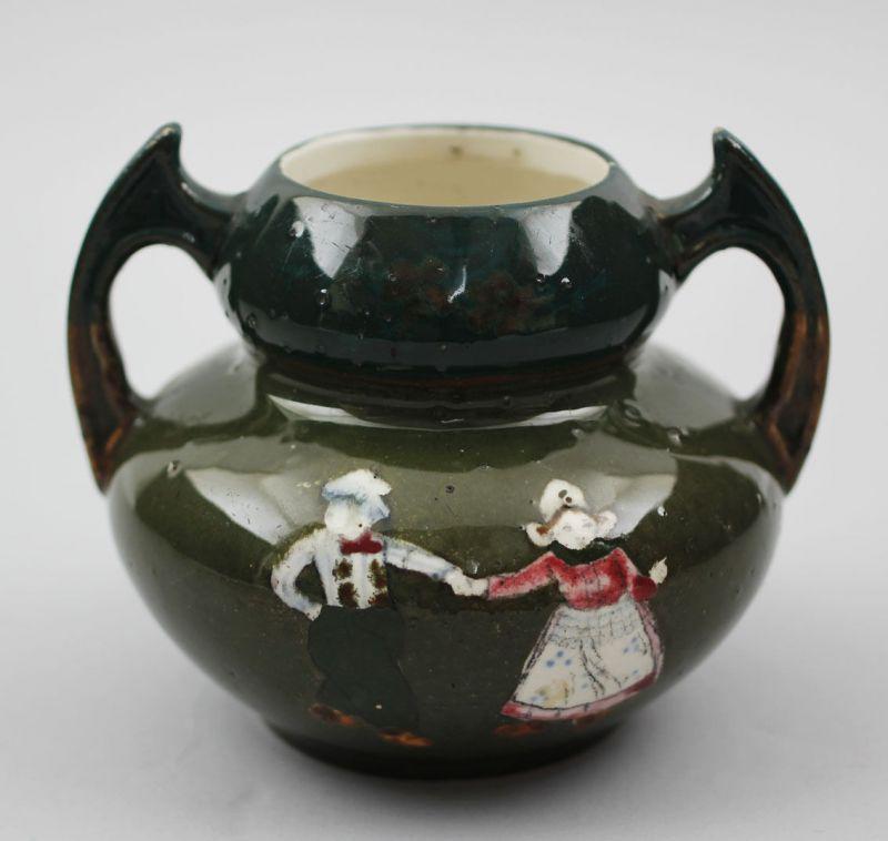 Jugendstil Vase / Amphore Holländertracht um 1900 99845024