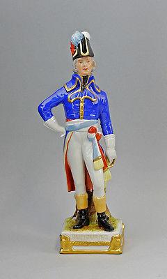 Porzellan Figur C. Lysek, Charles-François Dumouriez Scheibe-Alsbach 99840034