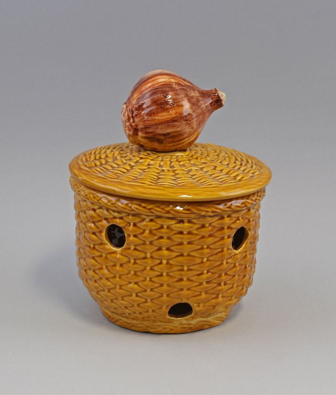 9918640  Zwiebel Topf Keramik Majolika Portugal