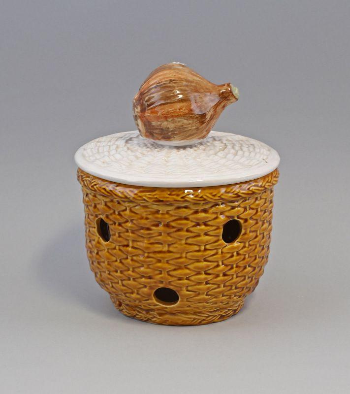 9918641  Zwiebel Topf Keramik Majolika Portugal