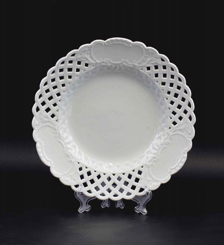Porzellan Durchbruchteller Marcolini Meissen 99840049