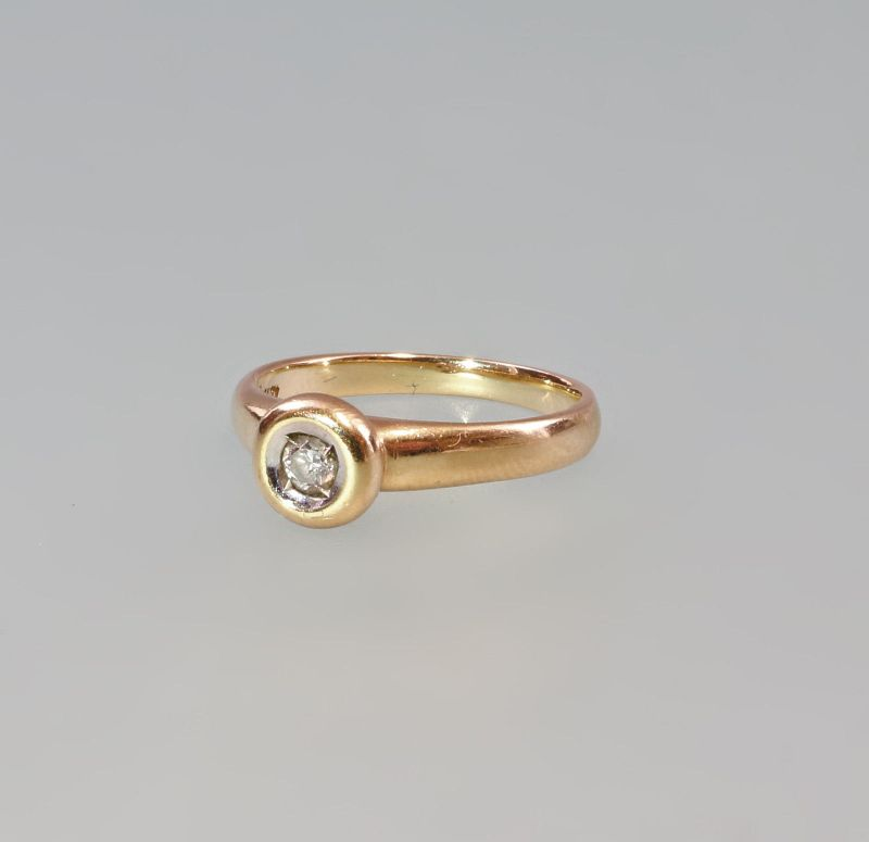 7925134 Brillant-Ring 585er Gold Gr. 52