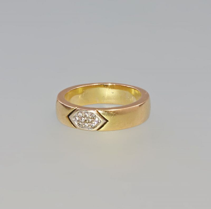 7925132 Brillant-Ring 750er Gold Gr. 61