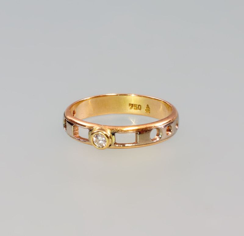 7925129 Brillant-Ring 750er Gold Gr. 51